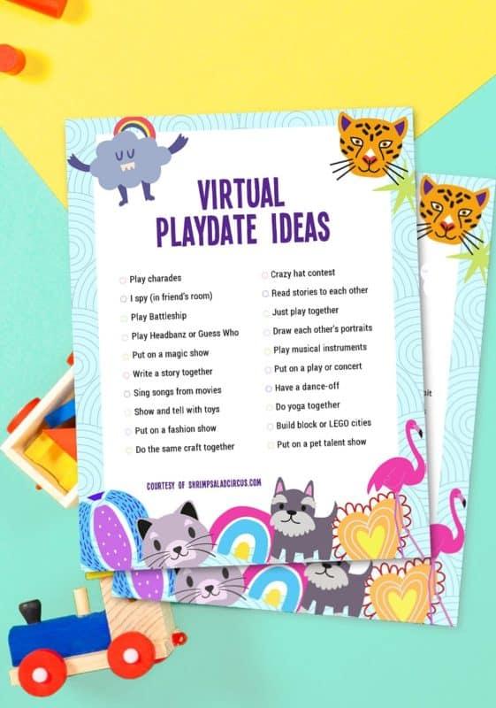 playdate fun activities for kids