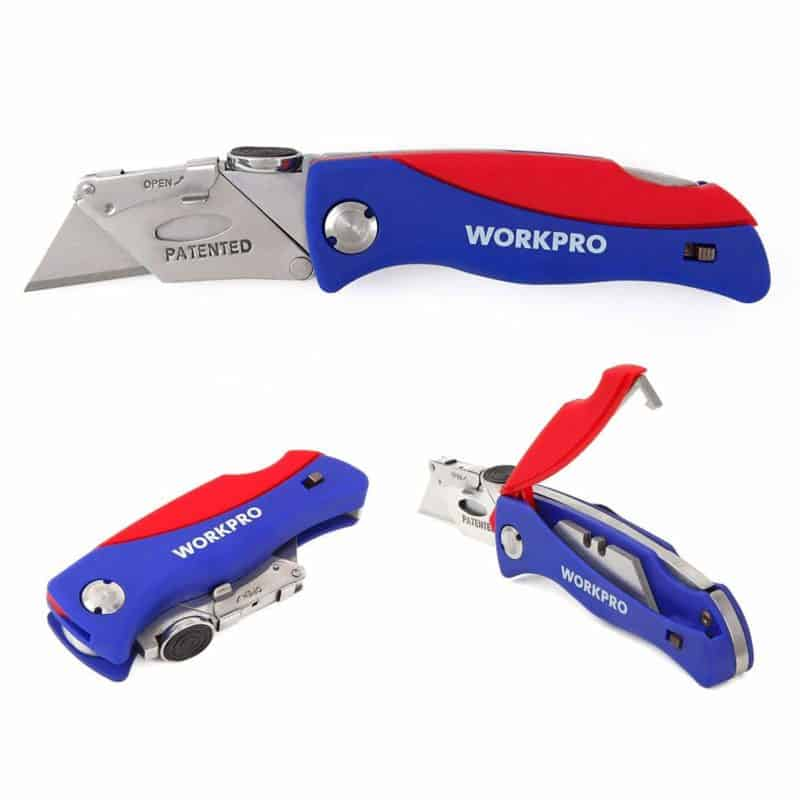 WORKPRO Folding Utility Knife