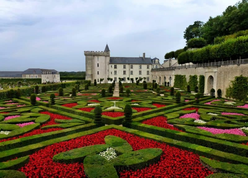 French gardens are well known for their geometric shapes