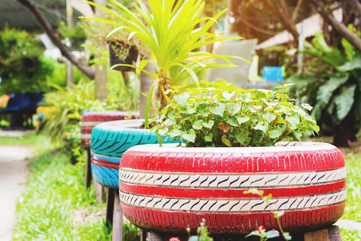 13 Tire Garden Ideas For Your Next Upcycling Project
