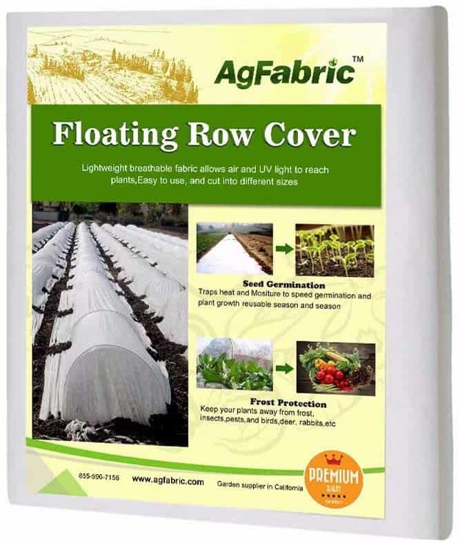 Agfabric Floating Row Cover and Plant Blanket