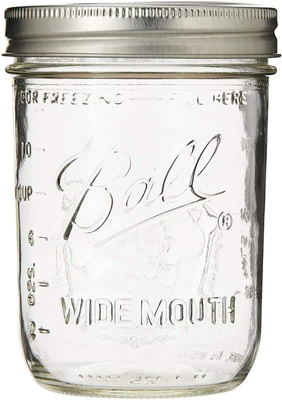 Ball Mason Jars Wide-Mouth Can or Freeze