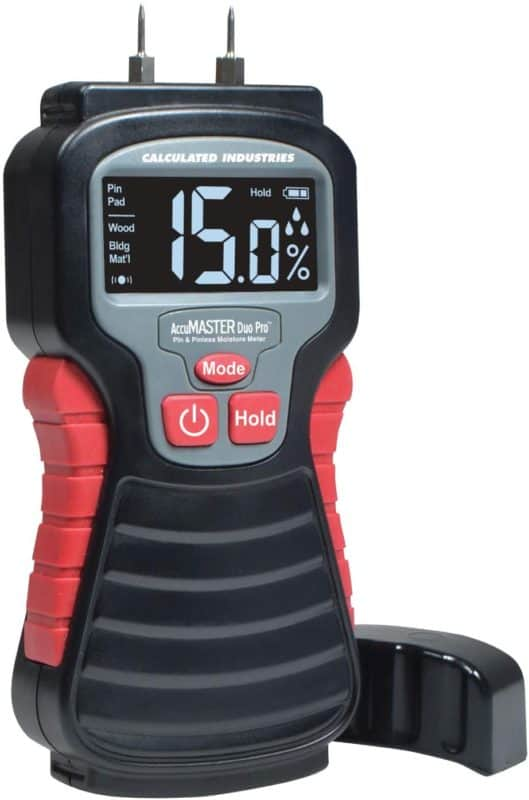 Calculated Industries 7445 AccuMASTER Duo Pro Pin & Pinless Moisture Meter