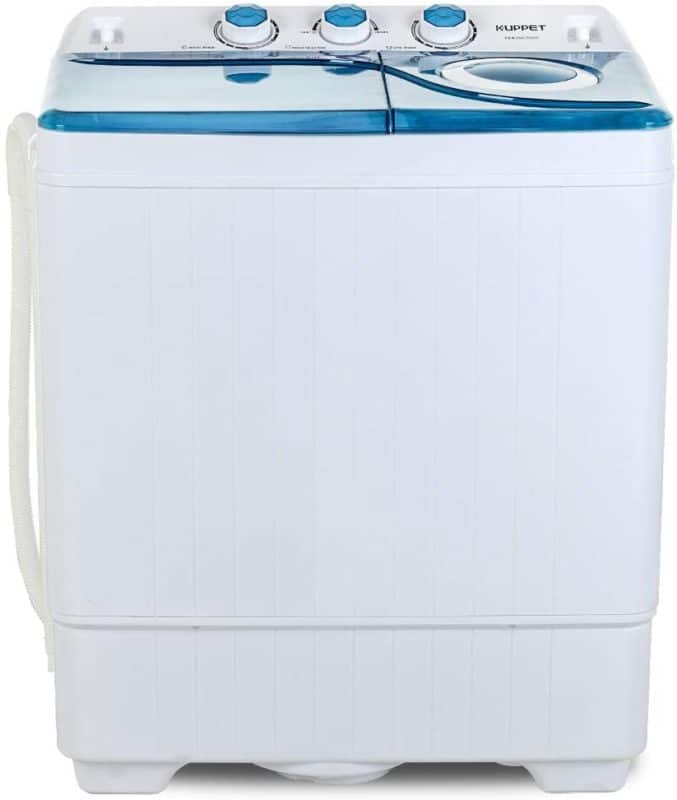 KUPPET 26 lbs Twin Tub Portable Mini Washing Machine
