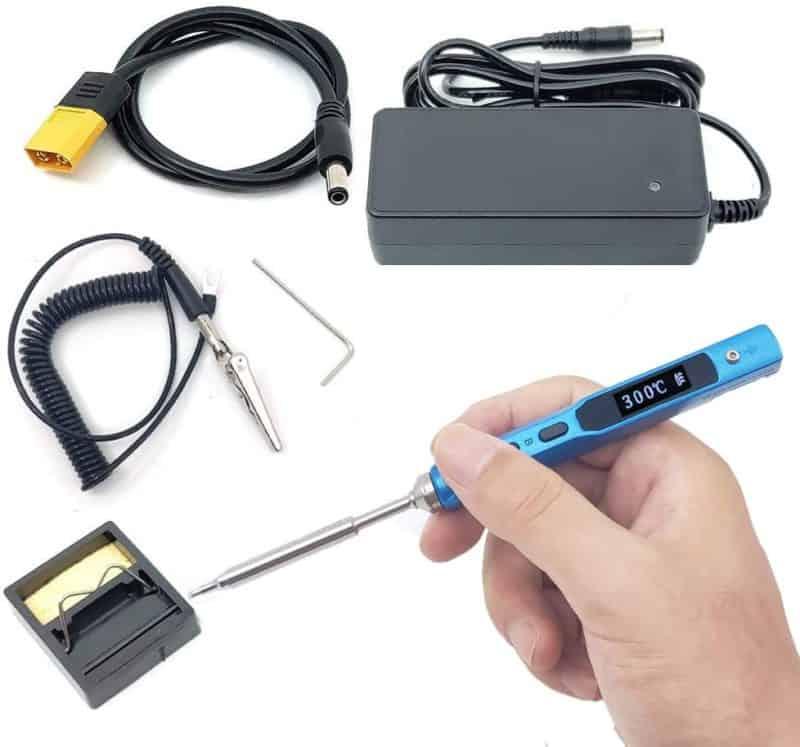 NovelLife 65W Mini TS100 Electric Soldering Iron Kit