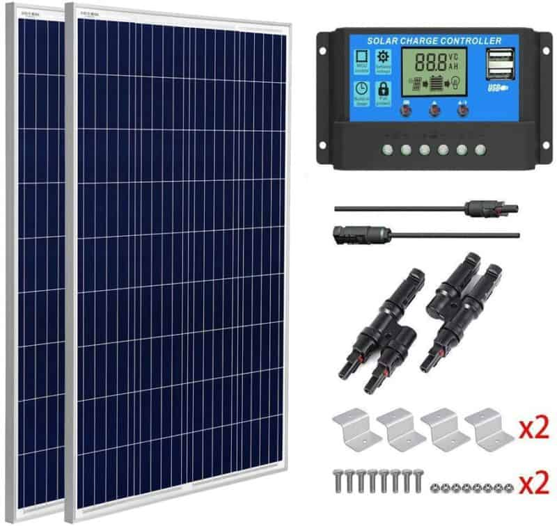 SUNGOLDPOWER 200 Watt 12V Polycrystalline Solar Panel