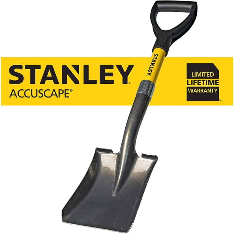 Stanley Garden BDS8088 Mini-D Handle Square Head Shovel