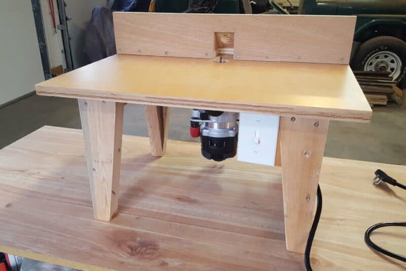 26. DIY Router Table #2