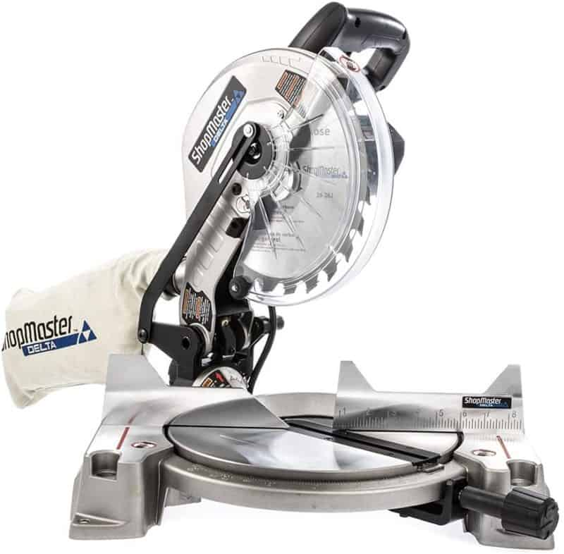 "Delta Power Equipment Corporation S26-262L 10"" Shop Master Miter Saw with Laser"