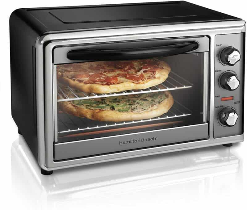 Hamilton Beach 31104D Countertop Oven with Convection & Rotisserie