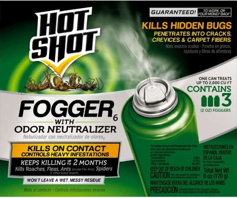 Hot Shot Indoor Fogger With Odor Neutralizer