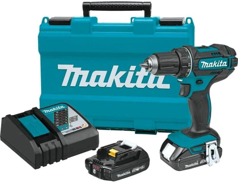 "Makita XFD10R 18V Compact Lithium-Ion Cordless ½"" Driver-Drill Kit"