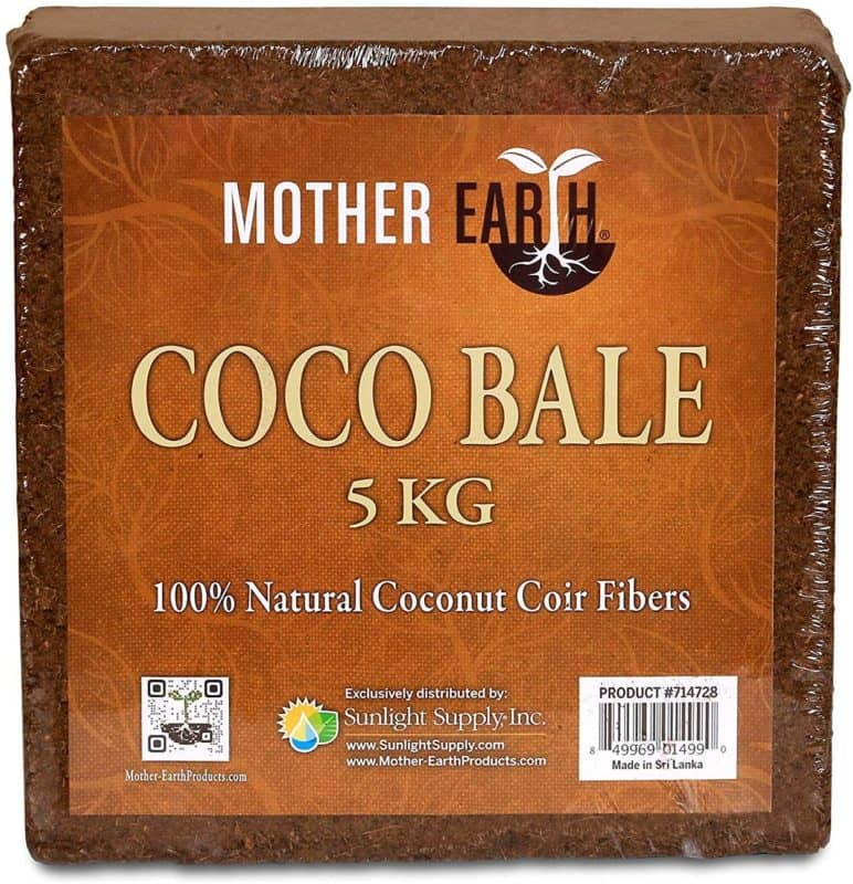Mother Earth HGC714728 Coco Bale 100% Coconut Coir Fibers