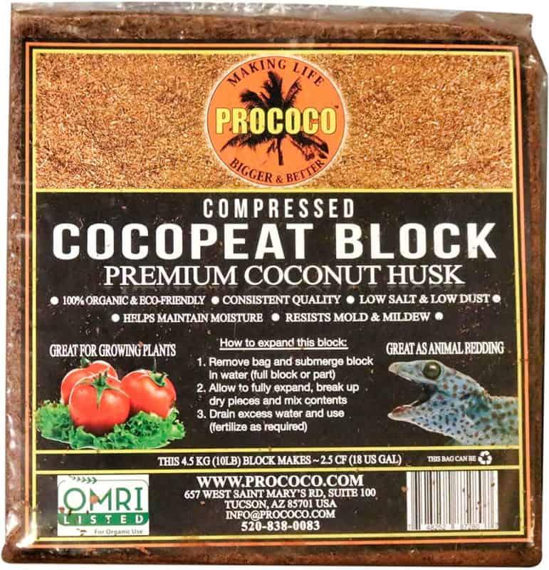 Prococo Cocopeat Premium Coconut Coir