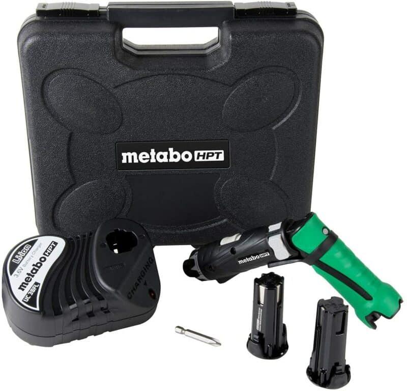 Metabo HPT Cordless Screwdriver Kit