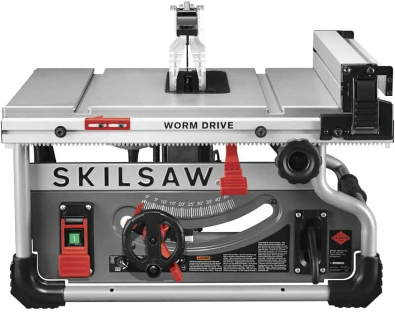 SKILSAW SPT99T-01 Portable Worm Drive Table Saw