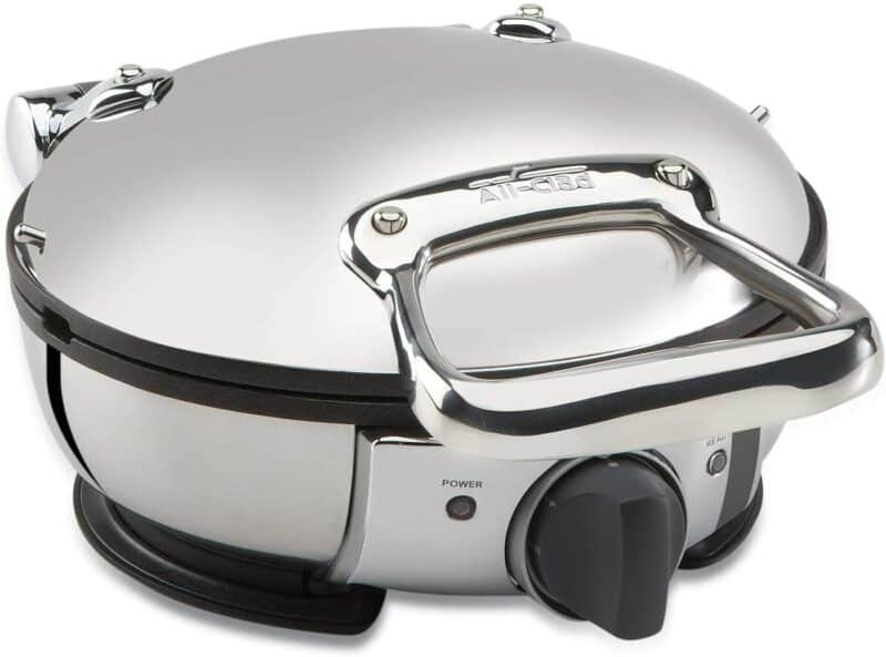 All-Clad WD700162 Stainless Steel Classic Round Waffle Maker
