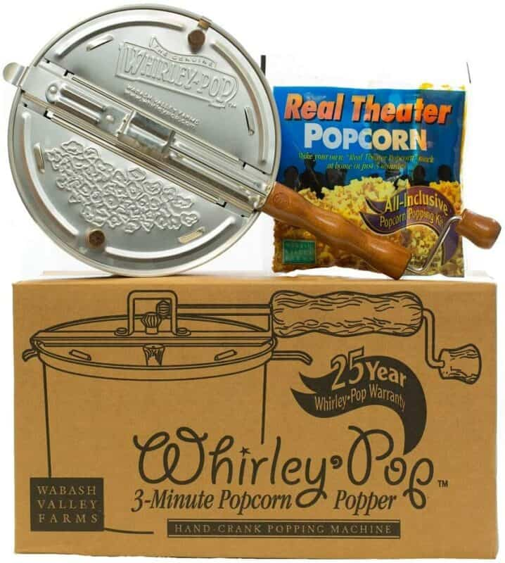 Wabash Valley Farms Whirley-Pop Popper Kit
