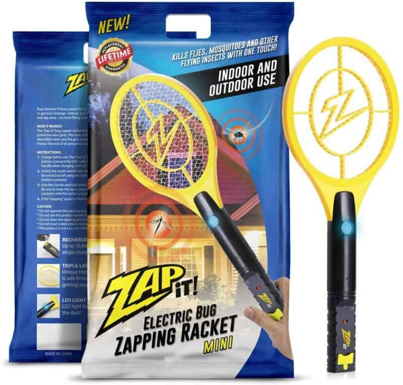 ZAP-IT! Mini Bug Zapper Racquet