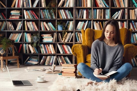 How to Create a Home Library and  Inspire a Culture of Reading