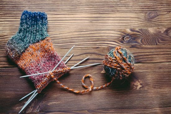 How to Make a Simple Pair of Knit Socks
